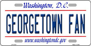 Georgetown Fan Wholesale Novelty Metal License Plate LP-13137