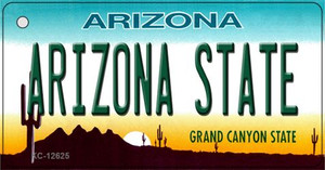 Arizona State Wholesale Novelty Metal Key Chain KC-12625