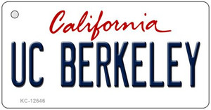 UC Berkeley Wholesale Novelty Metal Key Chain KC-12646