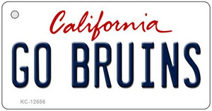 Go Bruins Wholesale Novelty Metal Key Chain KC-12656