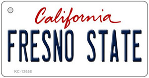 Fresno State Wholesale Novelty Metal Key Chain KC-12658