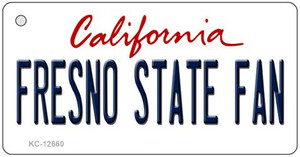 Fresno State Fan Wholesale Novelty Metal Key Chain KC-12660