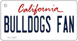 Bulldogs Fan Wholesale Novelty Metal Key Chain KC-12663