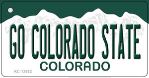 Go Colorado State Wholesale Novelty Metal Key Chain KC-12682