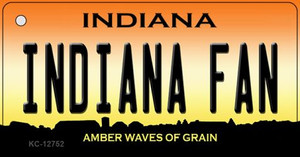 Indiana Fan Wholesale Novelty Metal Key Chain KC-12752
