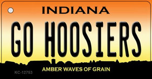 Go Hoosiers Wholesale Novelty Metal Key Chain KC-12753