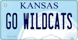 Go Wildcats Wholesale Novelty Metal Key Chain KC-12782