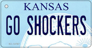 Go Shockers Wholesale Novelty Metal Key Chain KC-12787