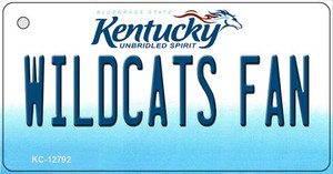 Wildcats Fan Wholesale Novelty Metal Key Chain KC-12792