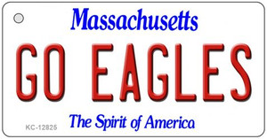 Go Eagles Wholesale Novelty Metal Key Chain KC-12825