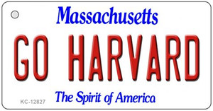 Go Harvard Wholesale Novelty Metal Key Chain KC-12827