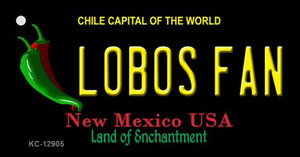 Lobos Fan Wholesale Novelty Metal Key Chain KC-12905