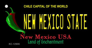New Mexico State Wholesale Novelty Metal Key Chain KC-12906