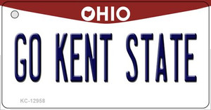 Go Kent State Wholesale Novelty Metal Key Chain KC-12958