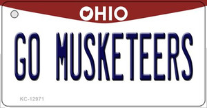 Go Musketeers Wholesale Novelty Metal Key Chain KC-12971