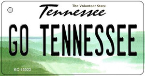 Go Tennessee Wholesale Novelty Metal Key Chain KC-13023