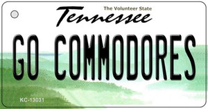 Go Commodores Wholesale Novelty Metal Key Chain KC-13031