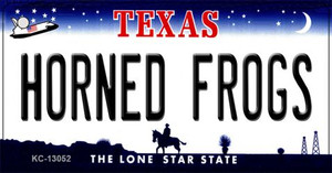 Horned Frogs Wholesale Novelty Metal Key Chain KC-13052
