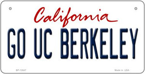 Go UC Berkeley Wholesale Novelty Metal Bicycle Plate BP-12647