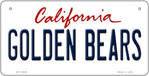 Golden Bears Wholesale Novelty Metal Bicycle Plate BP-12649