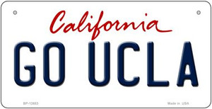 Go UCLA Wholesale Novelty Metal Bicycle Plate BP-12653