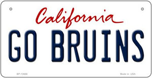 Go Bruins Wholesale Novelty Metal Bicycle Plate BP-12656