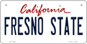 Fresno State Wholesale Novelty Metal Bicycle Plate BP-12658