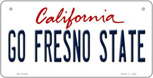 Go Fresno State Wholesale Novelty Metal Bicycle Plate BP-12659