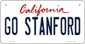Go Stanford Wholesale Novelty Metal Bicycle Plate BP-12671