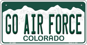 Go Air Force Wholesale Novelty Metal Bicycle Plate BP-12688