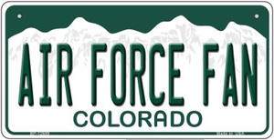 Air Force Fan Wholesale Novelty Metal Bicycle Plate BP-12689