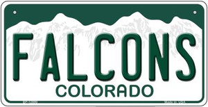 Falcons Wholesale Novelty Metal Bicycle Plate BP-12690