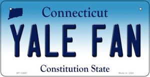 Yale Fan Wholesale Novelty Metal Bicycle Plate BP-12697