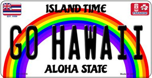 Go Hawaii Wholesale Novelty Metal Bicycle Plate BP-12729
