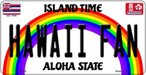 Hawaii Fan Wholesale Novelty Metal Bicycle Plate BP-12730