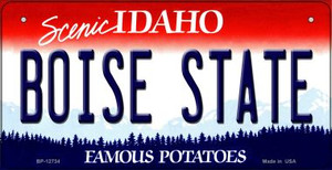 Boise State Wholesale Novelty Metal Bicycle Plate BP-12734