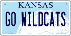 Go Wildcats Wholesale Novelty Metal Bicycle Plate BP-12782