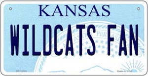 Wildcats Fan Wholesale Novelty Metal Bicycle Plate BP-12783
