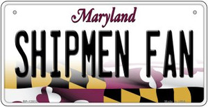 Shipmen Fan Wholesale Novelty Metal Bicycle Plate BP-12813