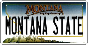 Montana State Wholesale Novelty Metal Bicycle Plate BP-12864