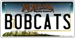 Bobcats Wholesale Novelty Metal Bicycle Plate BP-12867