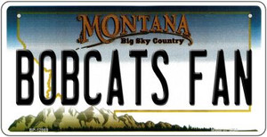 Bobcats Fan Wholesale Novelty Metal Bicycle Plate BP-12869