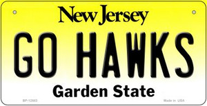 Go Hawks Wholesale Novelty Metal Bicycle Plate BP-12883