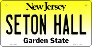 Seton Hall Wholesale Novelty Metal Bicycle Plate BP-12895