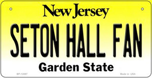 Seton Hall Fan Wholesale Novelty Metal Bicycle Plate BP-12897