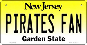 Pirates Fan Wholesale Novelty Metal Bicycle Plate BP-12900