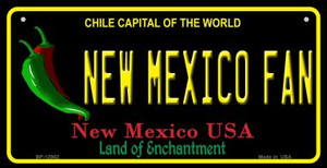New Mexico Fan Wholesale Novelty Metal Bicycle Plate BP-12902