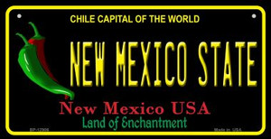 New Mexico State Wholesale Novelty Metal Bicycle Plate BP-12906