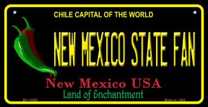 New Mexico State Fan Wholesale Novelty Metal Bicycle Plate BP-12908