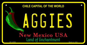 Aggies Wholesale Novelty Metal Bicycle Plate BP-12909